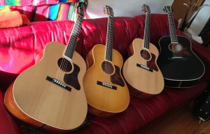 Four Fairbanks Guitars