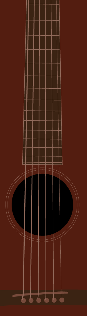 guitar illustration by Nick Lethert